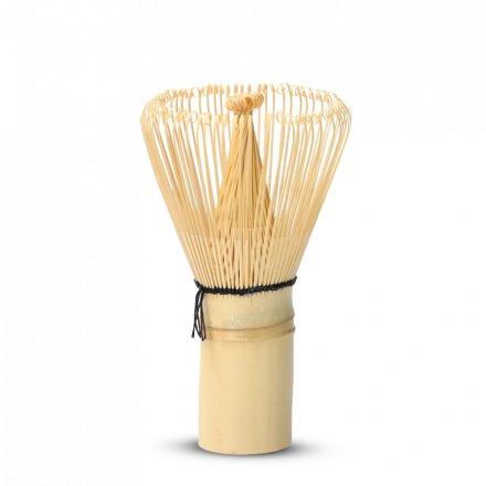 Fouet À Matcha (Chasen) Bambou Doré 80 Brins