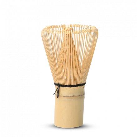 Fouet À Matcha (Chasen) Bambou Doré 120 Brins