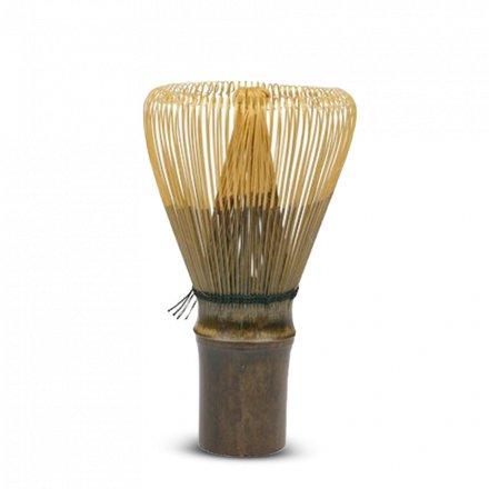 Fouet À Matcha (Chasen) Bambou Violet 100 Brins