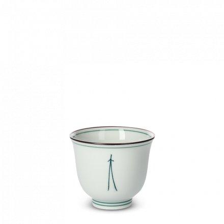 Tasse À Thé Japonaise En Porcelaine Grande Matsuba
