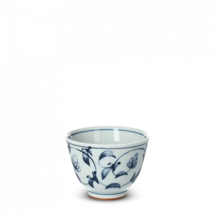 Tasse À Thé Japonaise En Porcelaine Tsuruha