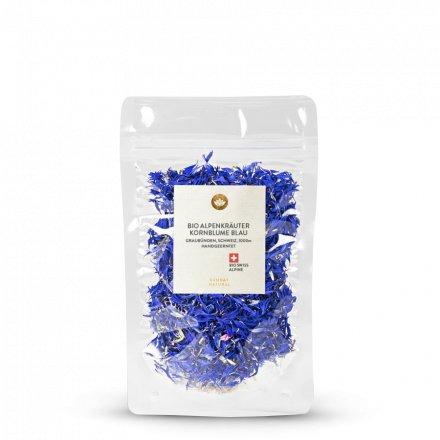 Tisane De Bleuets Bleu Des Alpes Bio