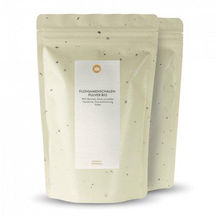 Poudre De Psyllium Bio 99 %, 2x400 g