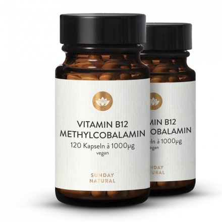 Vitamine B12 Sous Forme De Méthylcobalamine 1000µg