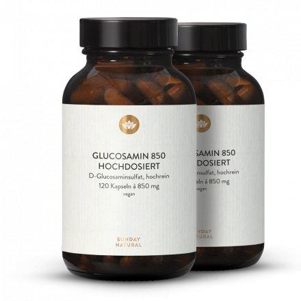 Glucosamine 850mg Dosage Élevé, Issue De Fermentation, Vegan