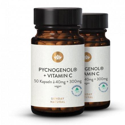 Extrait D'écorce De Pin Pycnogenol® 40 + Vitamine C
