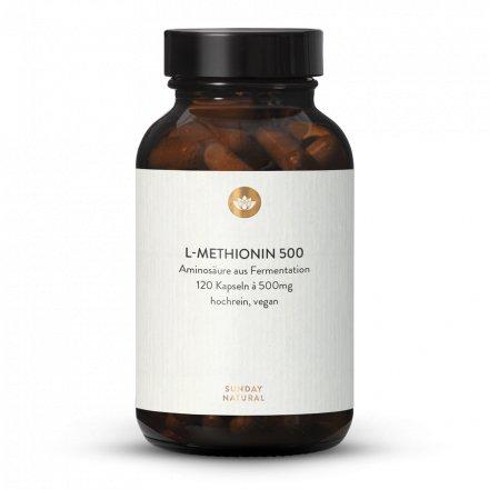 L-Méthionine 500 en Gélules