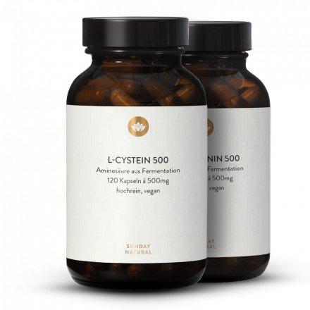 Coffret Cystine + Méthionine, Issues De La Fermentation, Vegan