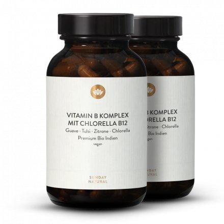 Complexe de Vitamines B Bio + Chlorella B12