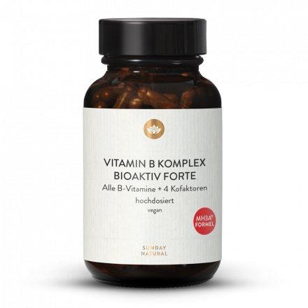 Complexe De Vitamines B Forte Dosage Élevé Avec Cofacteurs