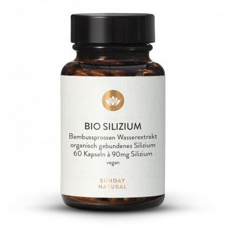 Silicium bio, dosage élevé, 90 mg