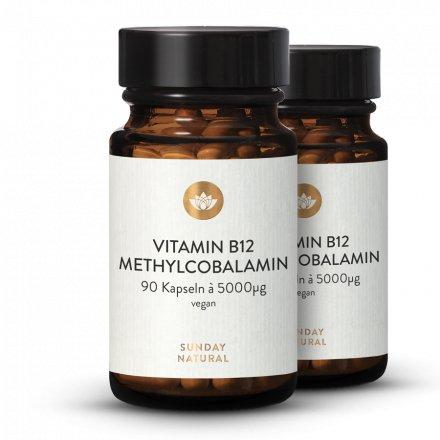 Vitamine B12 Sous Forme De Méthylcobalamine 5000µg