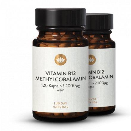 Vitamine B12 Sous Forme De Méthylcobalamine 2000µg