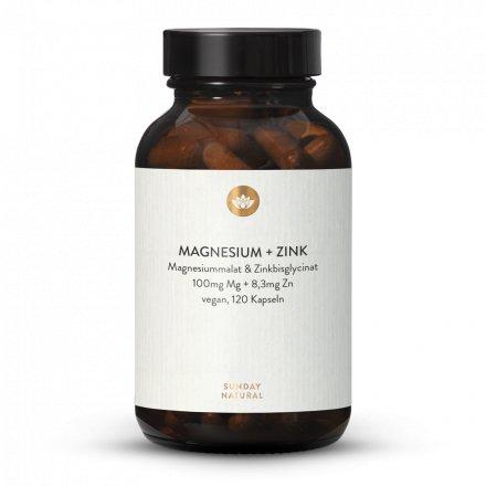 Magnésium + Zinc ZMA En Gélules