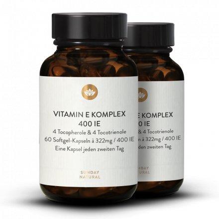 Complexe De Vitamine E 400 Ui