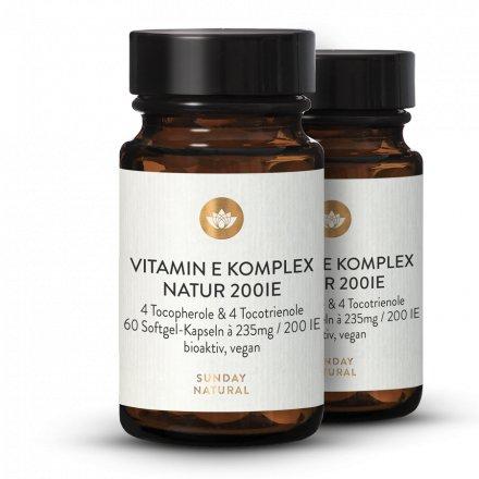 Complexe de vitamine E 200 UI
