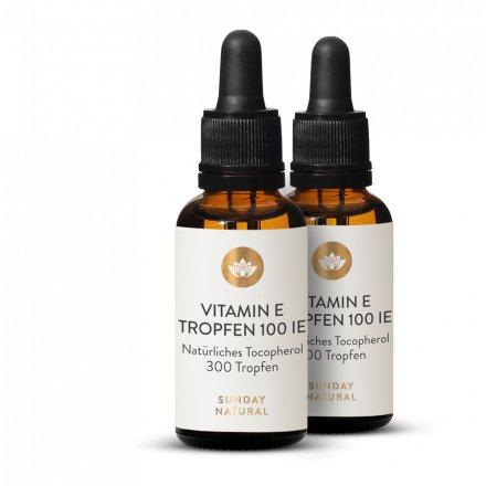 Vitamine E 100 Ui En Gouttes