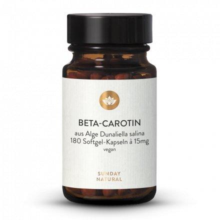 Bêta-Carotène 15mg En Gélules Softgel