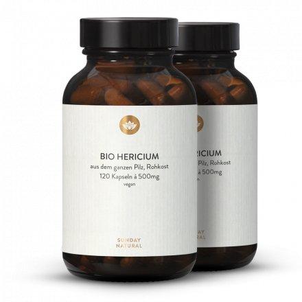 Poudre d'Hericium erinaceus bio en gélules