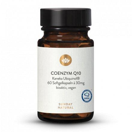 Coenzyme Q10 Ubiquinol® de Kaneka 30 mg