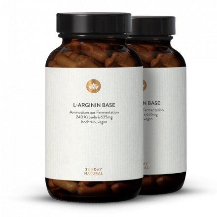 L-Arginine base en gélules