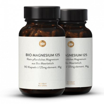 Magnésium Bio 125Mg En Gélules