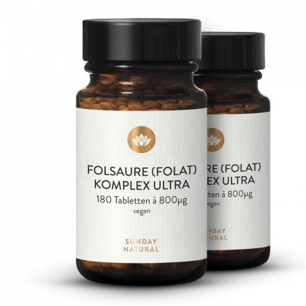 Acide Folique (Folate) Complexe Ultra 800
