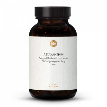Astaxanthine 8 mg en gélules