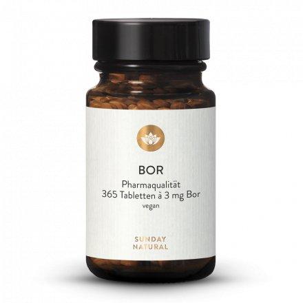Bore 3 mg Comprimés Borate De Sodium