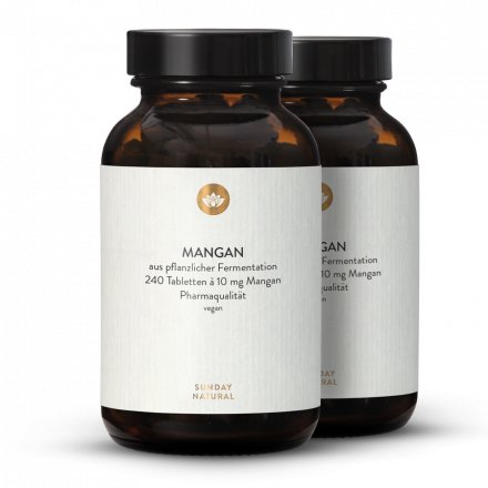 Gluconate De Manganèse  Comprimés 10 mg