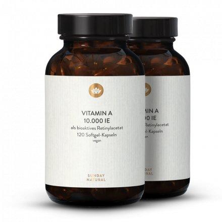 Vitamine A 10 000 Ui Dosage Élevé
