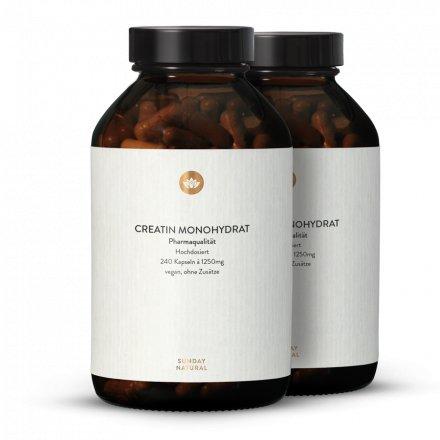Créatine Monohydrate À Dosage Élevé En Gélules