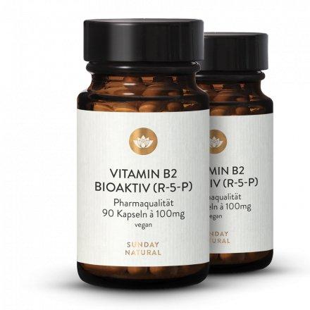 Vitamine B2  R-5-P Bioactive Dosage Élevé 100mg