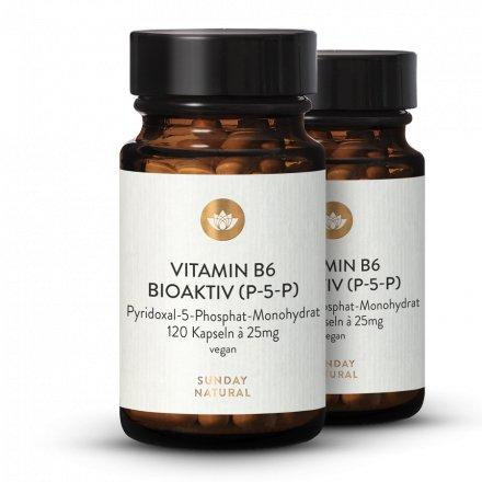 Vitamin B6 P-5-P Bioactive Dosage Élevé
