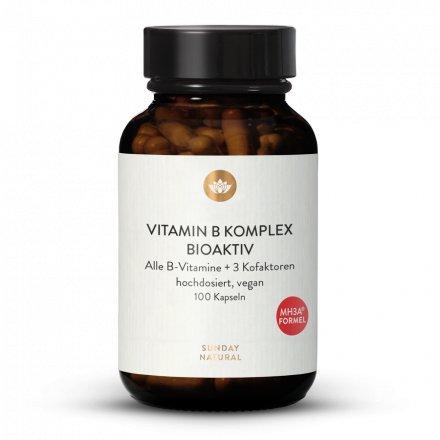 Complexe de Vitamines B Bioactif  Dosage Élevé avec Cofacteurs