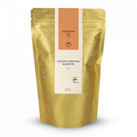 Golden curcuma thé basique bio