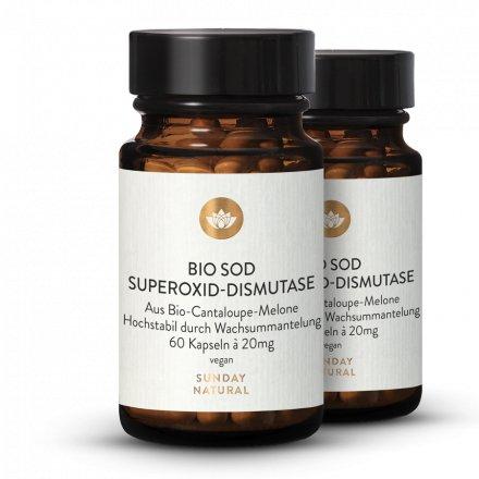 SOD Bio En Gélules  Superoxyde Dismutase