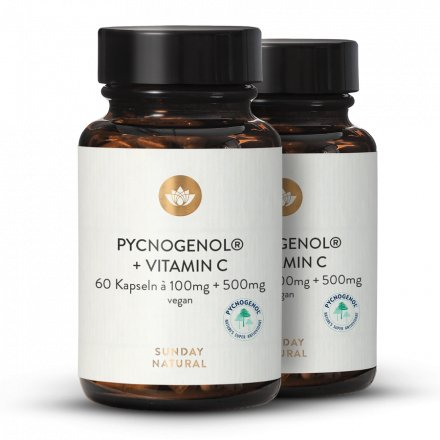 Pycnogenol® 100 + C Extrait D'écorce De Pin