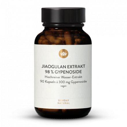 Extrait de Jiaogulan 98 % de gypénosides en gélules