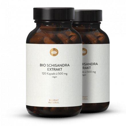 Schisandra Bio Extrait en gélules