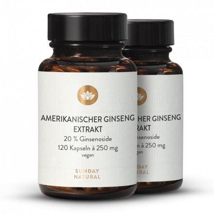 Ginseng américain Extrait en gélules