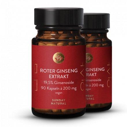 Ginseng rouge Extrait en gélules